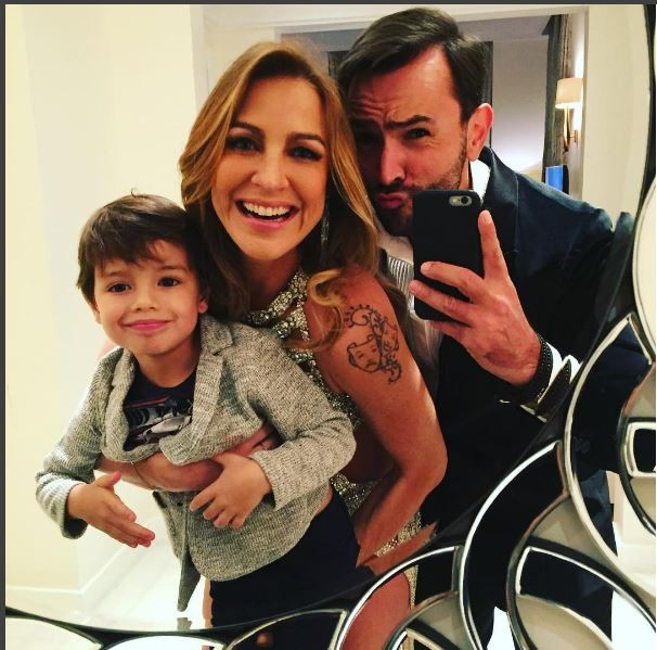 Luana Piovani com o filho Dom na festa e amigo (Foto: Reprodução/Instagram)