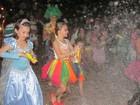 Carnaval em Barras tem bloco infantil atrás do trio elétrico no 2º dia de folia