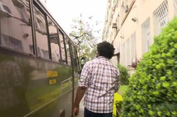 Manoel Soares aborda crise na segurança pública do RS no Profissão Repórter (Foto: Reprodução/RBS TV)