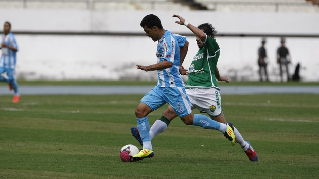 Paysandu conseguiu vencer o Cuiabá no segundo tempo (Foto: Marcelo Seabra / O Liberal)