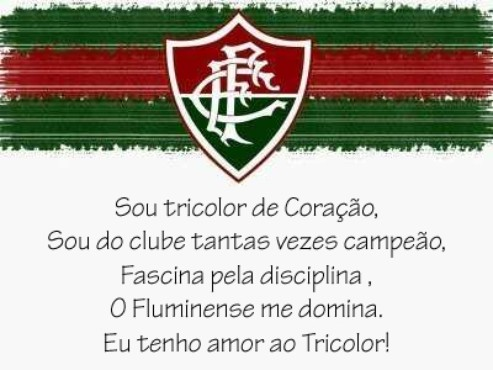 screenshot de Hino do Fluminense