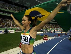 Maurren Maggi atletismo Pan do Rio (Foto: EFE)