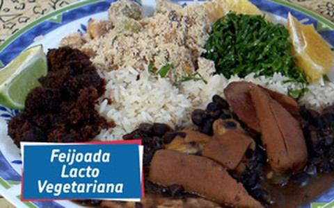 Feijoada light lactovegetariana do 'Que Marravilha! Revanche'