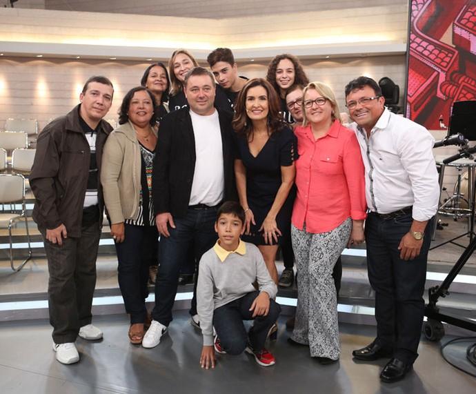 Parte da plateia do 'Encontro' com a Fátima  (Foto: Fabiano Battaglin/Gshow)