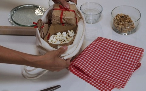 Como fazer uma cestinha de lanches para aniversário