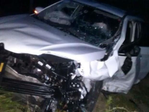 Motorista do outro veículo fugiu do hospital, diz PRE (Foto: Keile Araújo / Itororó Já )