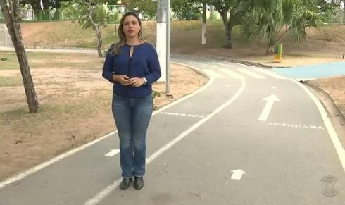 Série foi apresentada pela repórter Waléria Assunção (Foto: Reprodução)