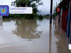Chuva alaga ruas e deixa famílias desalojadas em Caraguatatuba, SP