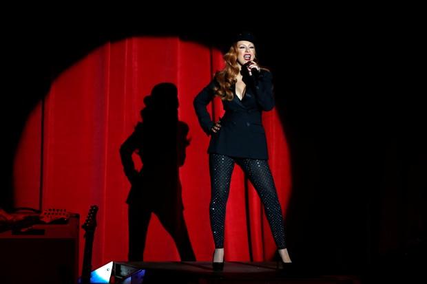 Christina Aguilera aparece ruiva (Foto: Reuters)