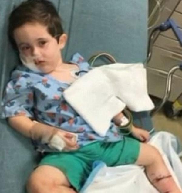 O garoto passou por cirurgias (Foto: Reprodução/Instagram)