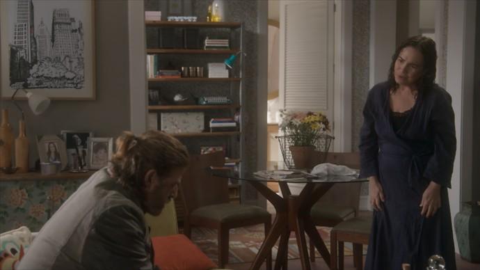 Suzana esclarece tudo o que aconteceu e Pedro não sabia (Foto: TV Globo)