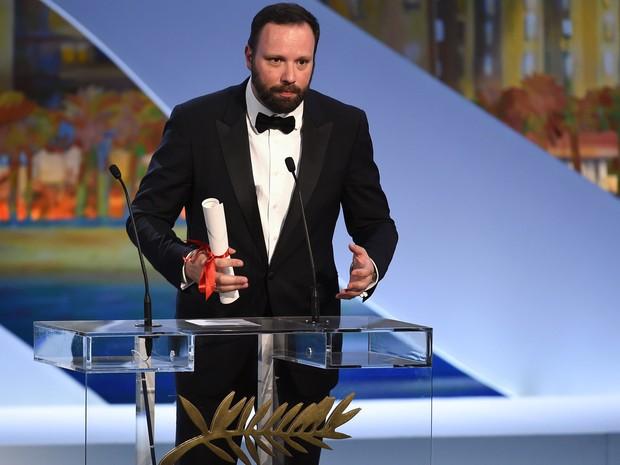 O diretor grego Yorgos Lanthimos recebeu o Prêmio do Júri (Foto: Anne Christine Pojoulat / APF)