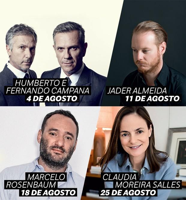 Casa Vogue entrevista Irmãos Campana e designers brasileiros (Foto: Divulgação)