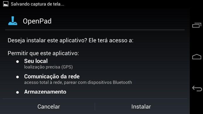Instale o app OpenPad (Foto: Reprodução / Dario Coutinho)