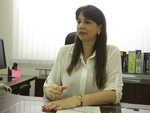Promotora Lítia Cavalcante fala sobre aumento na tarifa de ônibus em São Luís (Foto: Flora Dolores/O Estado)