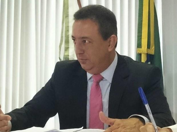 O presidente do Tribunal de Contas do DF, Renato Rainha (Foto: Mateus Rodrigues/G1)