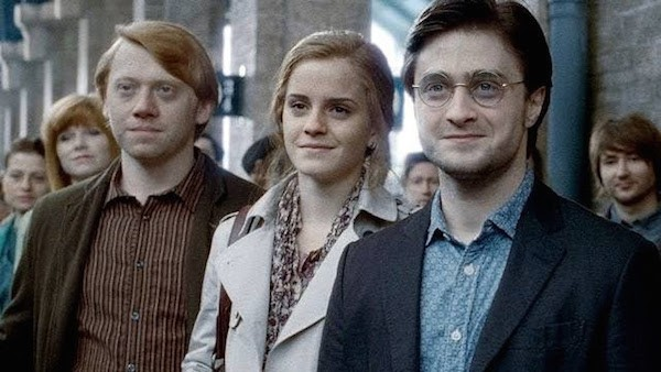 Daniel Radcliffe como Harry Potter envelhecido (Foto: Reprodução)