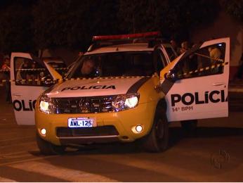 Adolescente é suspeito de matar dois PMs (Foto: Reprodução RPC TV)
