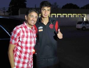Matheus, filho do Bebeto (Foto: Rafael Cavalieri/Globoesporte.com)
