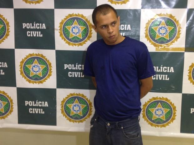 Raul Henriques Nogueira, de 33 anos, achava que estava sendo traído pela namorada (Foto: Lívia Torres/G1)