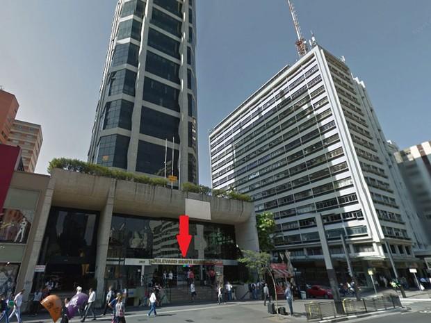 75dae4cf18648 Shopping Boulevard, na Avenida Paulista, um dos locais onde foram  encontradas lojas que vendem