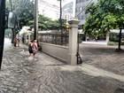 Rio tem pancadas de chuva e alagamentos em vários pontos