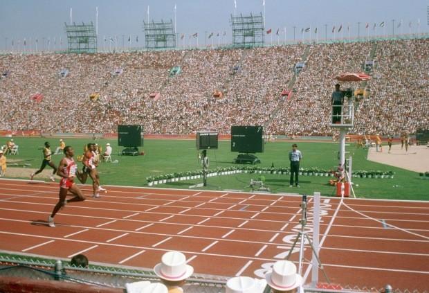 Jogos Olímpicos de Los Angeles, em 1984 (Foto: Reprodução/Wikipédia)
