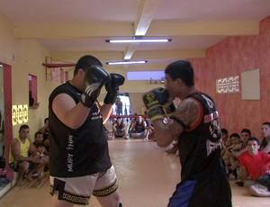 Pedro Sagat lutador de Muay Thai 2 (Foto: Reprodução/ TV Verdes Mares)