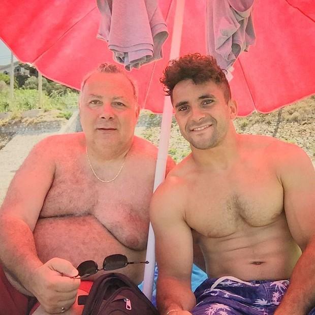 Sam Stanley e Laurence Hicks (Foto: Reprodução / Instagram)