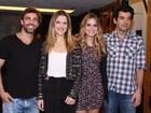 Famosos prestigiam estreia da peça 'Razões para ser bonita' no Rio