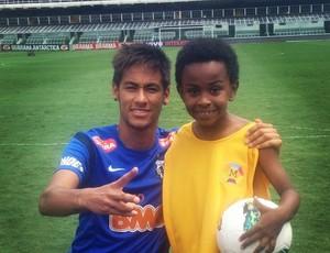 Neymar posta foto com Cirilo  (Foto: Reprodução  / Instagram)