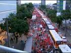 Recife tem protesto contra impeachment e Eduardo Cunha