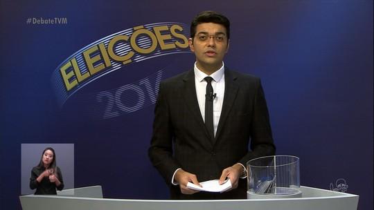 Candidatos de Fortaleza participam do último debate do 1º turno