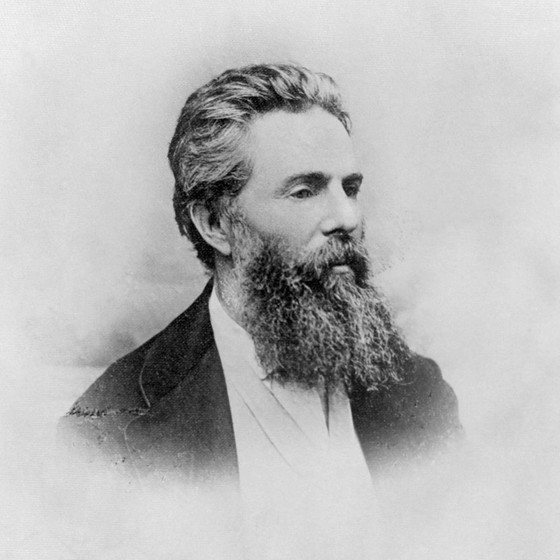 Herman Melville,escritor (Foto: Bettmann Archive)
