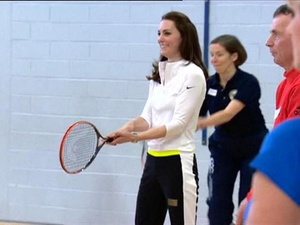 Participação de duquesa foi 'fantástica para o tênis e o esporte feminino', diz técnica (Foto: BBC)