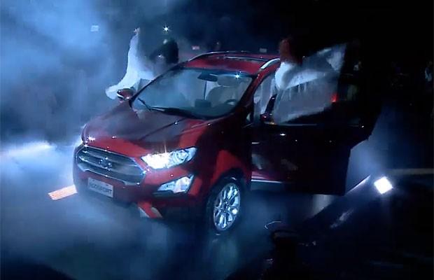 Novo Ford Ecosport é lançado na Argentina (Foto: Autoesporte)