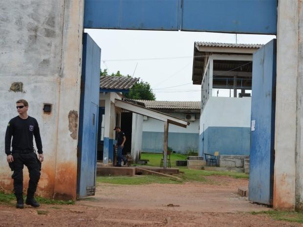 Segundo diretor do presídio, presos retornarã para cela no dia 29 (Foto: Magda Oliveira/ G1)