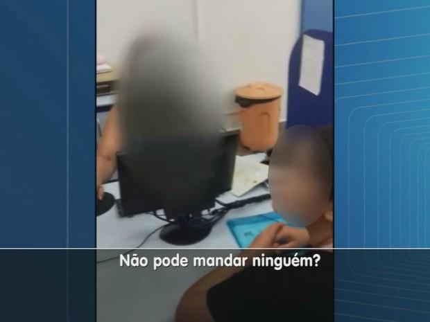 Homem que passava mal teve o atendimento recusado na Santa Casa de Franca, SP (Foto: Reprodução/EPTV)