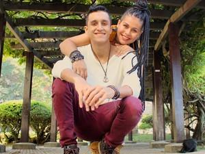 Casal está junto há quase dois anos (Foto: Micheli Mafra/Arquivo Pessoal)