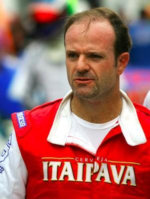 Rubens Barrichello durante treino para as 500 milhas de kart do Beto Carrero (Foto: Bruno Terena / divulgação)