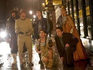 Robbin Williams em cena de 'Uma noite no museu 3' (Foto: Divulgação)