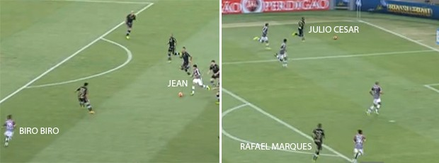 análise Fluminense x Botafogo (Foto: Editoria de Arte)