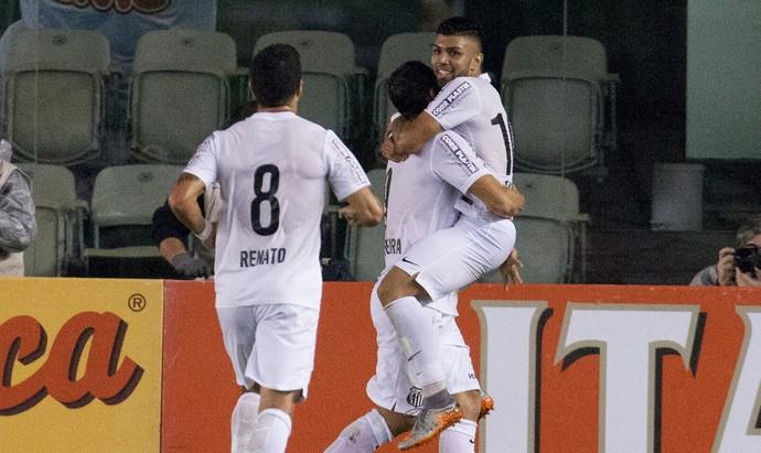 Gabriel gol Santos (Foto: Mario Angelo / Ag. Estado)