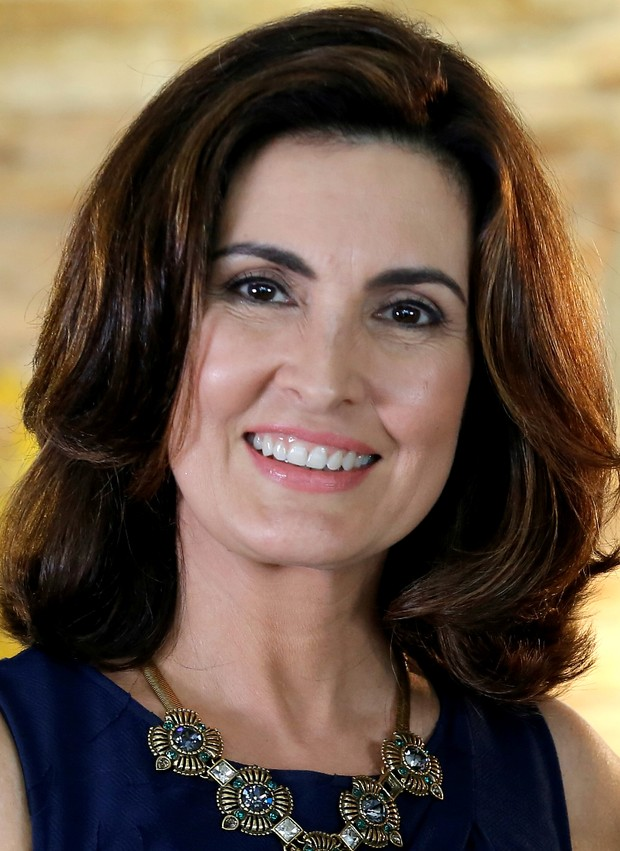 Fátima Bernardes (Foto: Fábio Rocha / Globo)
