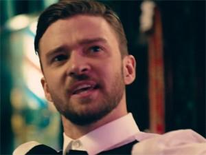 Justin Timberlake no clipe de 'Take back the night' (Foto: Divulgação)