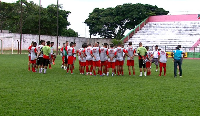 Treino Velo Clube (Foto: Ronaldo Oliveira/ EPTV)