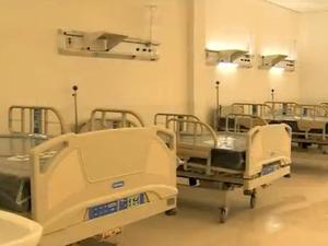 Hospital da Restinga inauguração Porto Alegre Rio Grande do Sul (Foto: Reprodução/RBS TV)