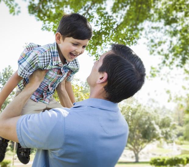 Filho e pai: como a sua personalidade pode afetar seu pequeno?  (Foto: Thinkstock)