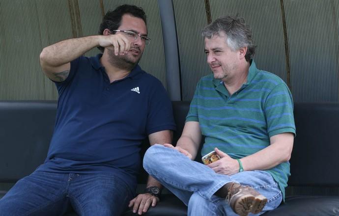 Alexandre Mattos e Paulo Nobre Palmeiras (Foto: Cesar Greco/Ag Palmeiras/Divulgação)