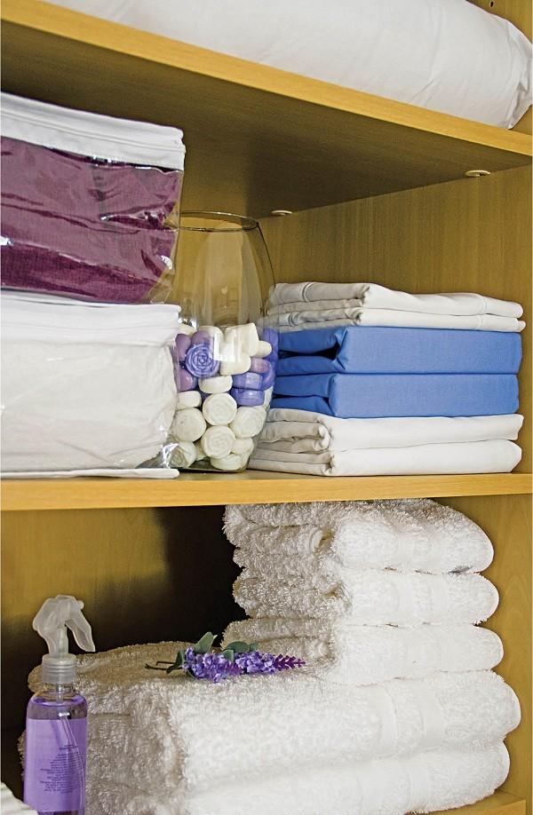Organiação nos lençóis (Foto: Divulgação)